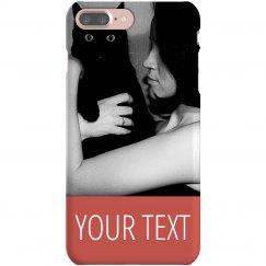 Custom Photo Cat Mom Gift Case