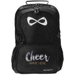 Metallic Custom Cheer Backpack