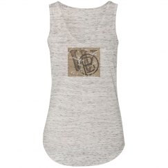 W&B - soft v-neck tank top