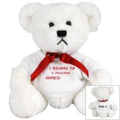 Sister G's- Princess bear