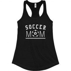 Rhinestone Soccer Mom