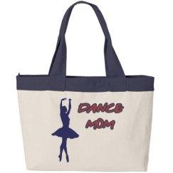 Navy Blue Ballerina Dance Mom