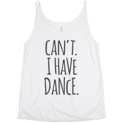 I Can't I Have Dance Girl