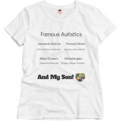 famous autistics