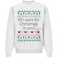 Ugly Christmas Couple Pullover