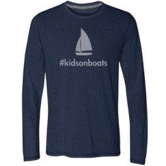kidsonboats, long, navy