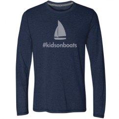 kidsonboats, long, navy