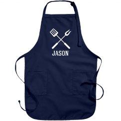 Jason personalized apron