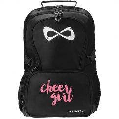 Cute Cheer Girl Backpack