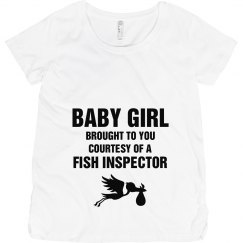 Fish inspector Girl
