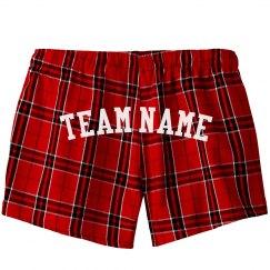 Custom Sports Team Name Shorts