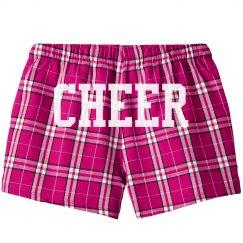 Custom Cheerleader Pajama Shorts