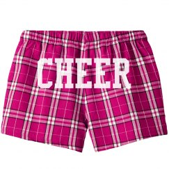 Custom Cheerleader Pajama Shorts