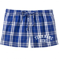 Custom Sports Team Pajama Shorts
