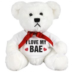 Love My Bae Valentines Day Bear