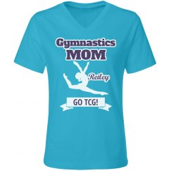 Gym Mom Relaxed Turquoise