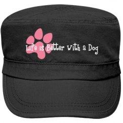 Life better w/dog-FidelBl