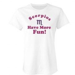Scorpios Have Fun