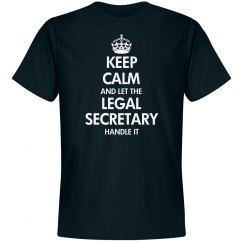 Keep calm and let the legal secretary handle it