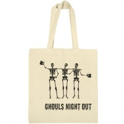 Ghouls Night Out Halloween Tote