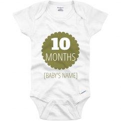 10 Month Marker