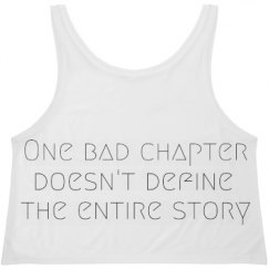 One Bad Chapter Flowy Boxy Tank