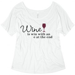 Wine Is Winning