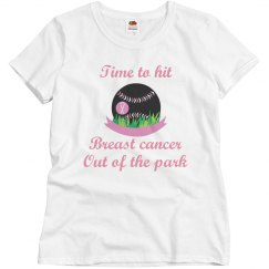 breast cancer baseball