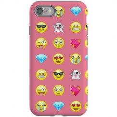 Emoji Pattern Phone