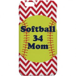 Softball Mom Phone Case