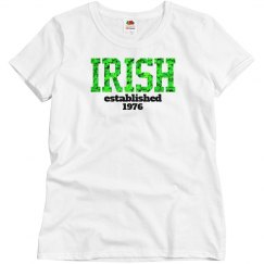 IRISH established 1976