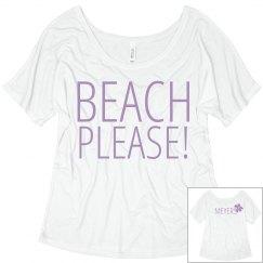 Beach Please Flower