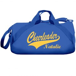 Cheerleading Bag With Custom Name and Colors