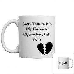 Don't talk to me Mug