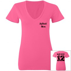 Neon Softball Mom Jersey