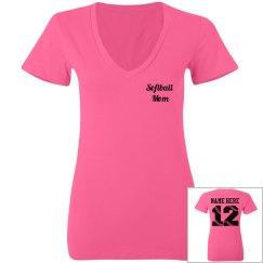 Neon Softball Mom Jersey