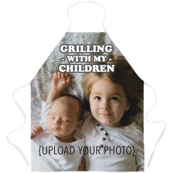 Dad Love's Grilling With His Kids