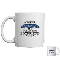 World's best boyfriend mug