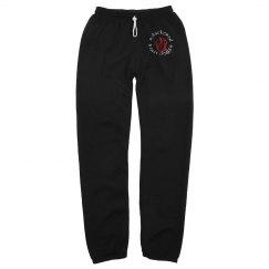 Darkened Heart Design Pants