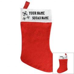 team stockings