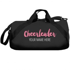 Custom Name Cheerleader Gift