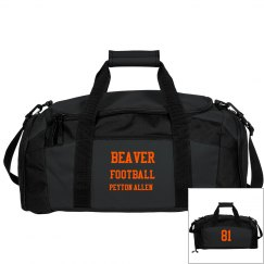 Beaver Football Bag