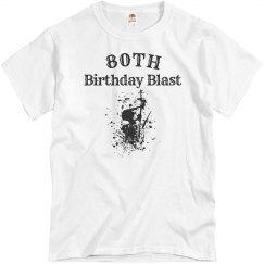80th birthday balst