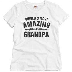 World's amazing grandpa
