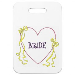 Brides Luggage Tag