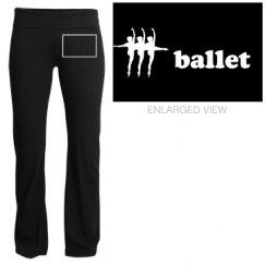 ballet yoga pants