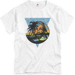 Beach Jesus Men's Tee