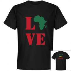 Africa Love. Black Lives Matter