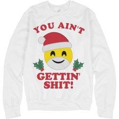 Emoji Santa Doesn't Give Out