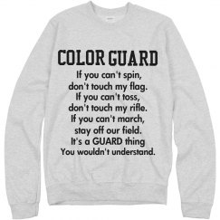 Its a guard thing
